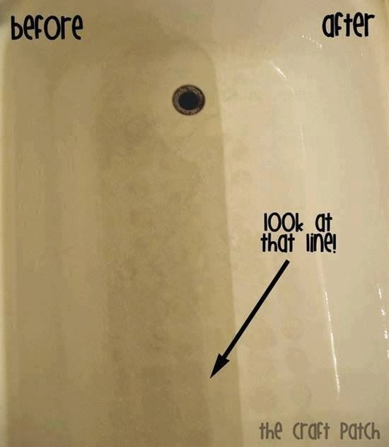 Diy Tub And Shower Cleaner Works Great And No Scrubbing