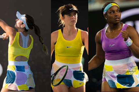 Colorful Nikecourt Fashion At 2020 Aussie Open In 2020 Fashion Tennis Clothes Tennis Fashion