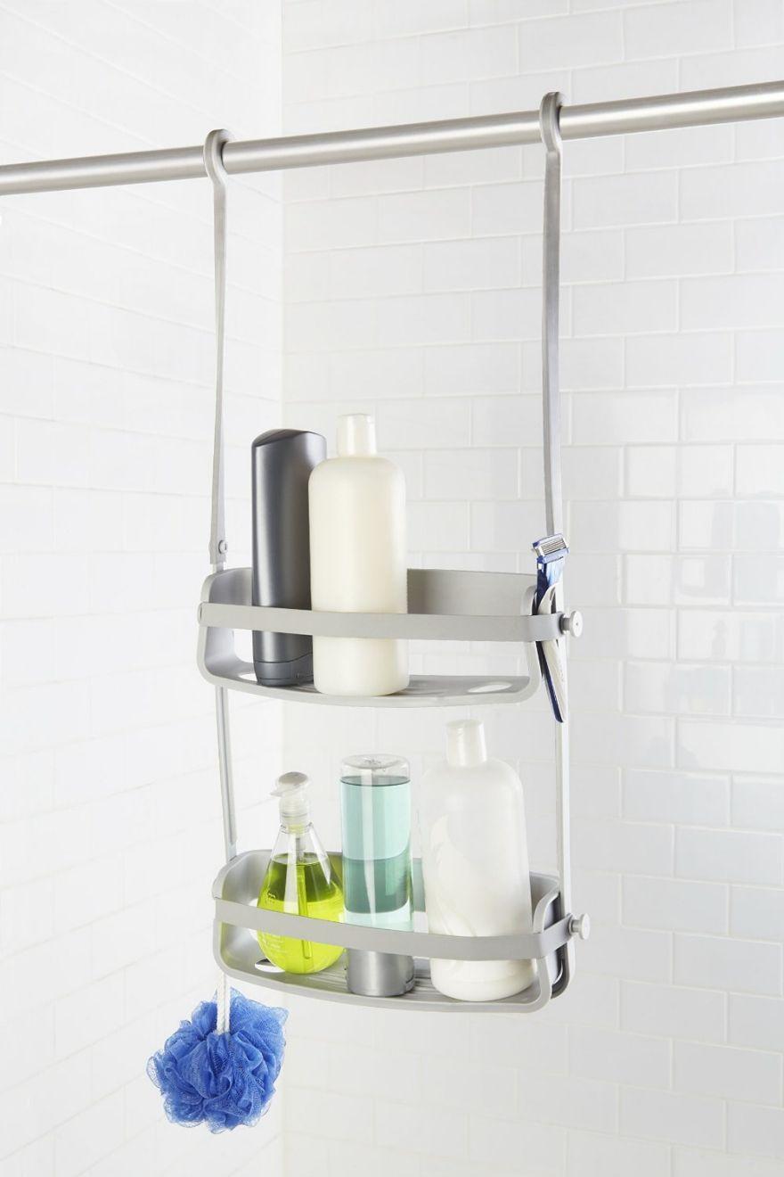 Shower Curtain Rod Caddy   Bathroom Utensils   Pinterest   Shower ...