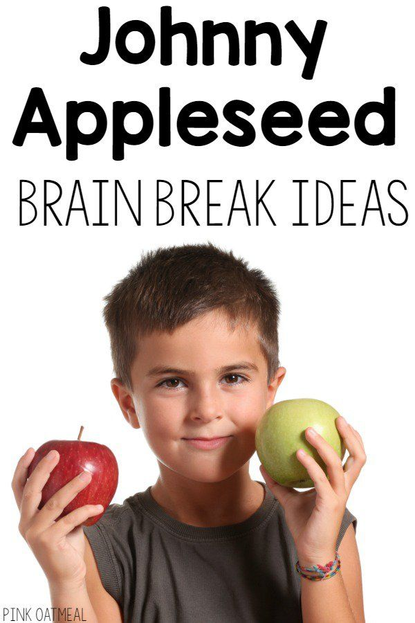 Fun movement ideas with a Johnny Appleseed theme! I love this for any apple…