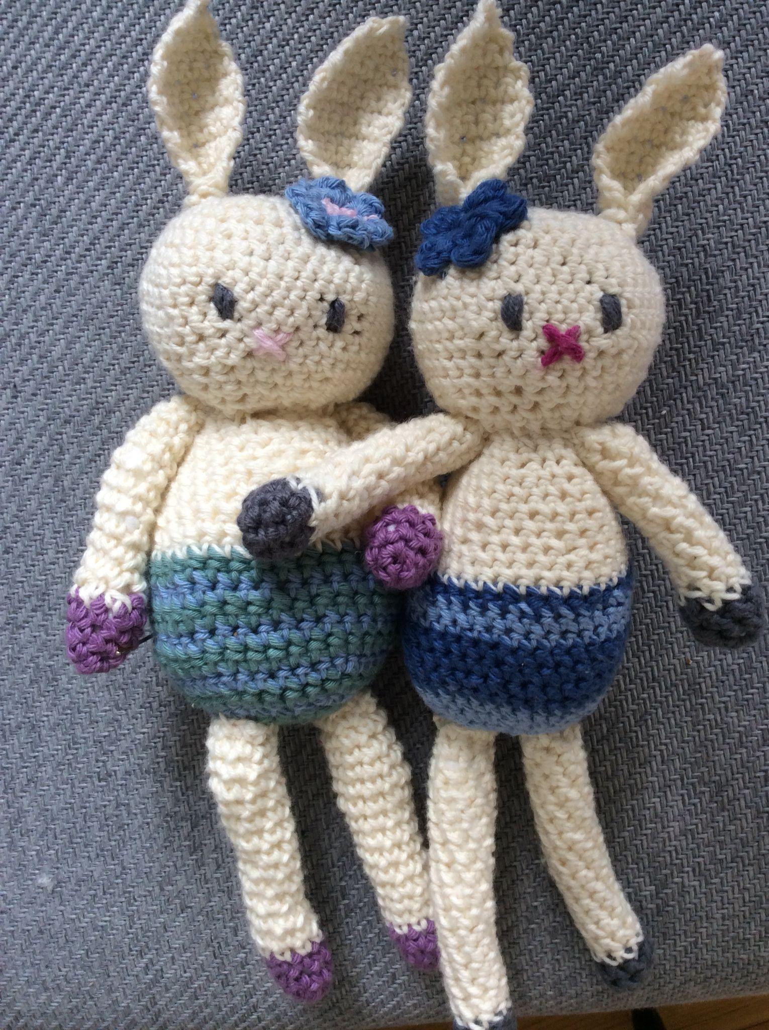 Hækle kaniner