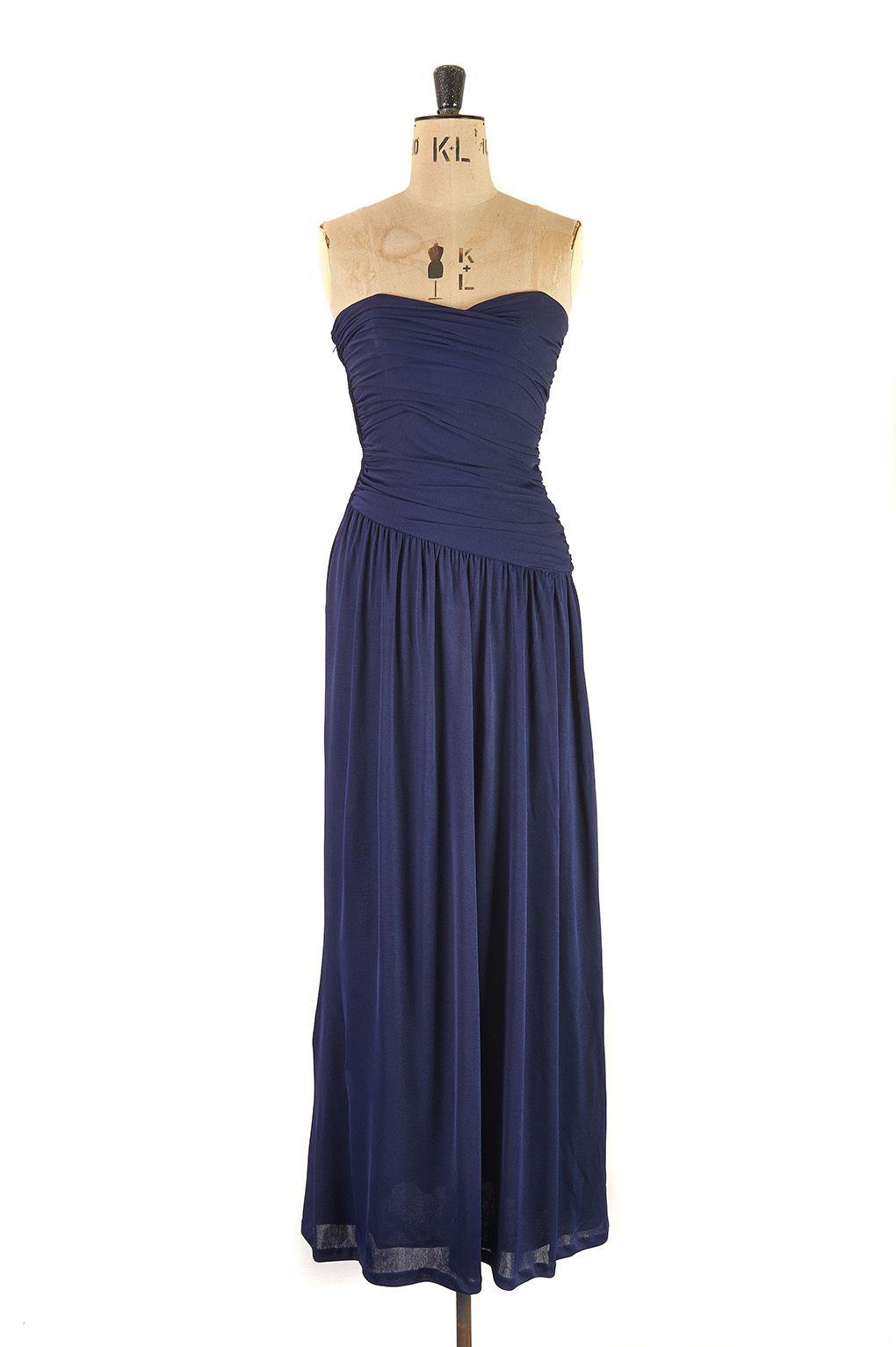 Grecian Evening Gown by Frank Usher c.1970   Margot & Hesse   Margot ...