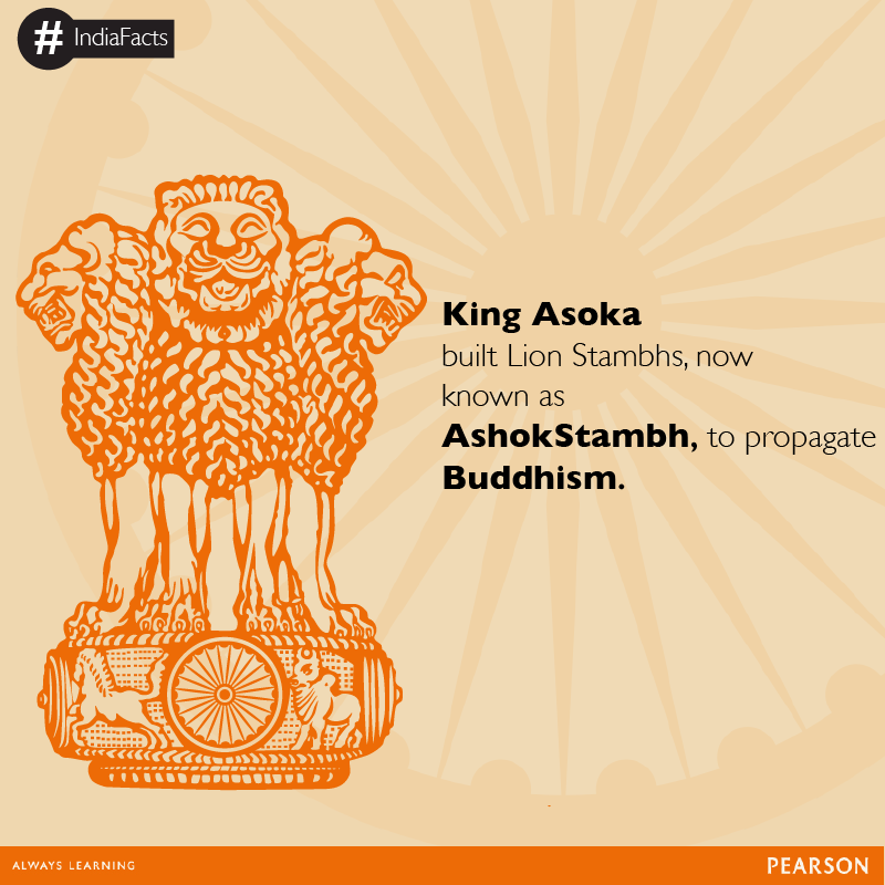 Ashok Stambh Was Adopted As The National Emblem Of India On 26