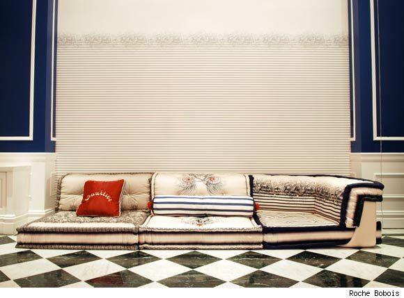 Jean Paul Gaultier S Mah Jong Couture Modular Sofa Home Deco Interior Best Sofa