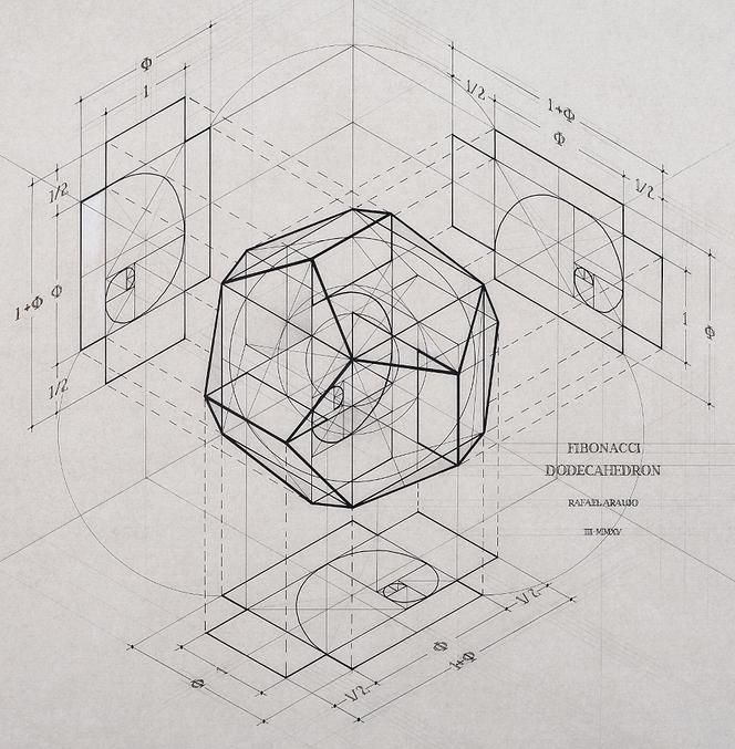 Venezuelan artist Rafael Araujo | Calculation / Sacred Geometry <3