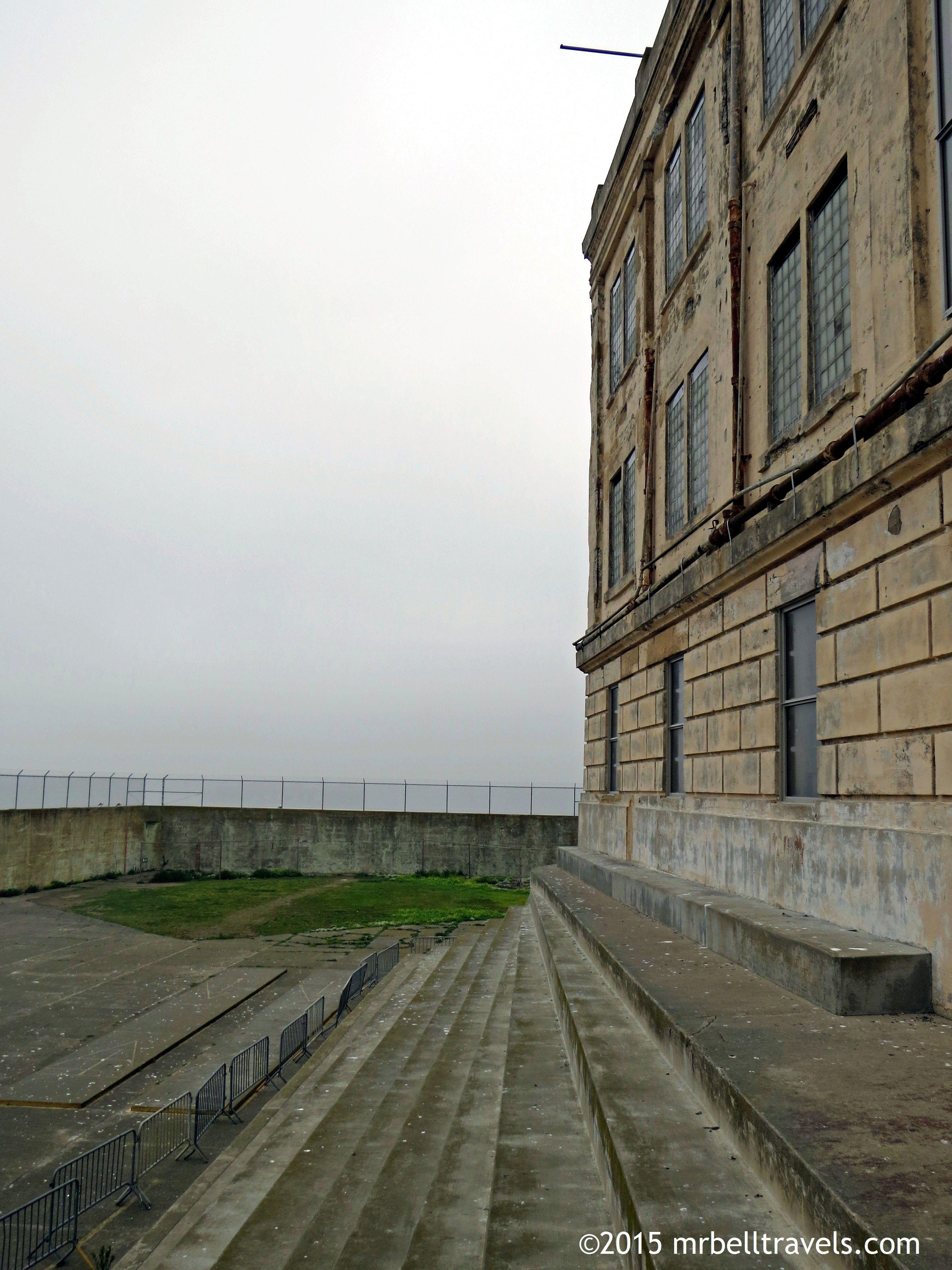 The Recreation Yard Alcatraz Www Mrbelltravels Com San