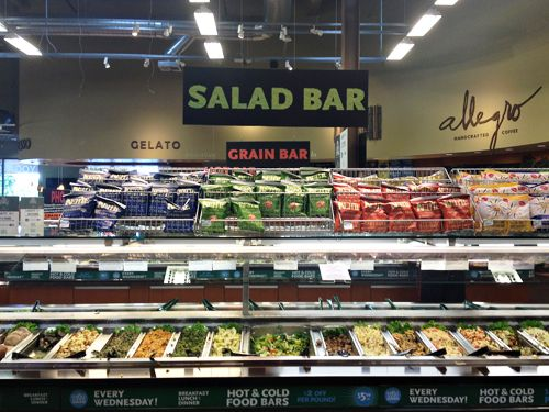Whole foods salad bar google search gourmet market for Organic food bar
