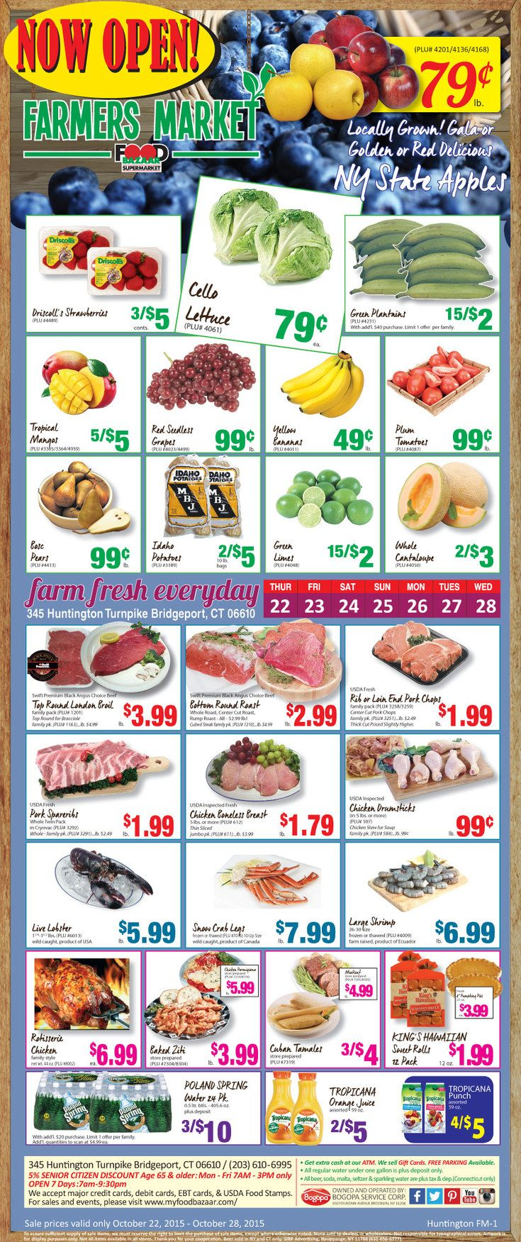 Food bazaar circular october 22 28 2015 httpwww