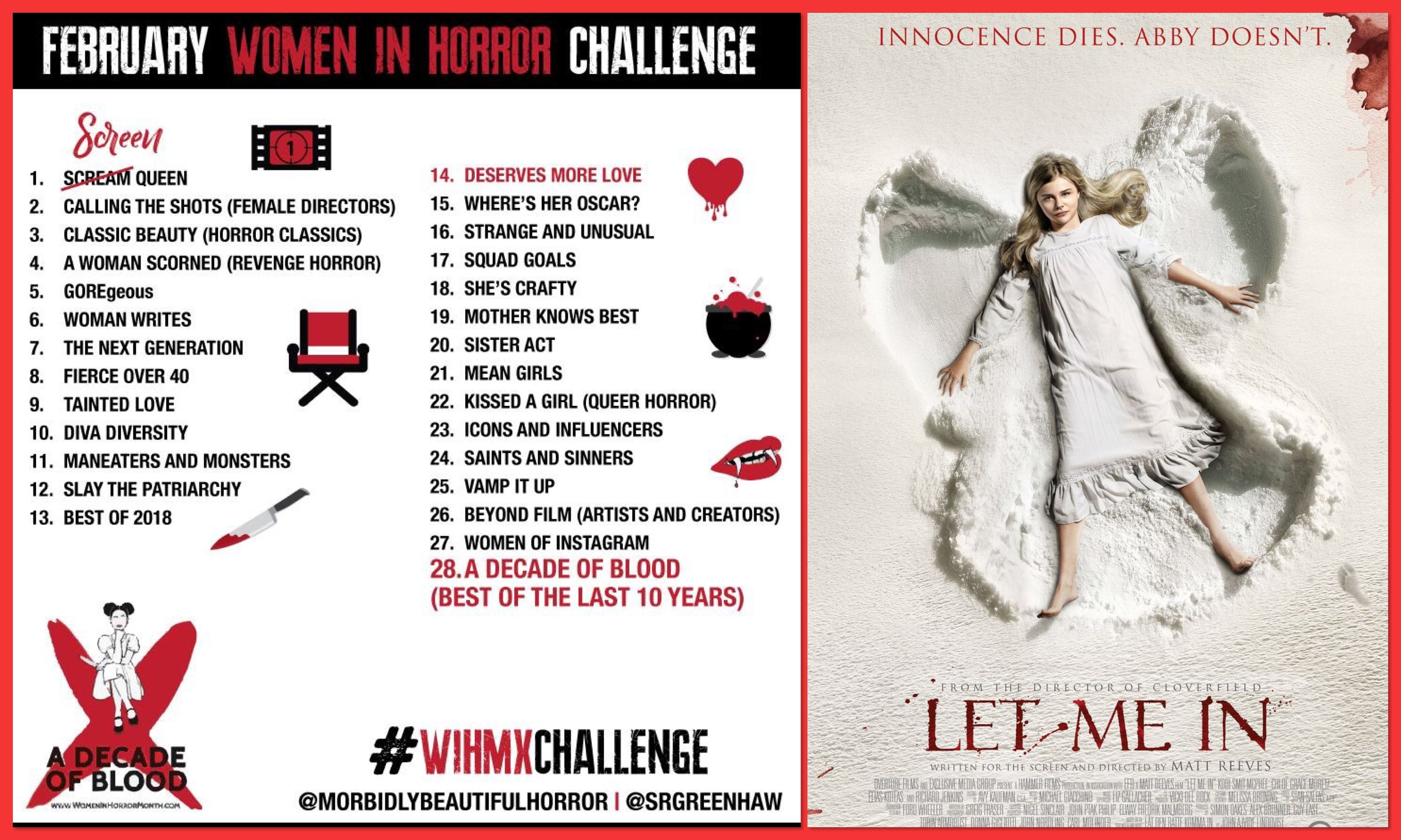 cf0a06430f In support of Women In Horror Month I will be attempting the ...