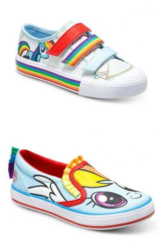 6cc387554108e My Little Pony shoes for kids: Like friendship, they're magic ...
