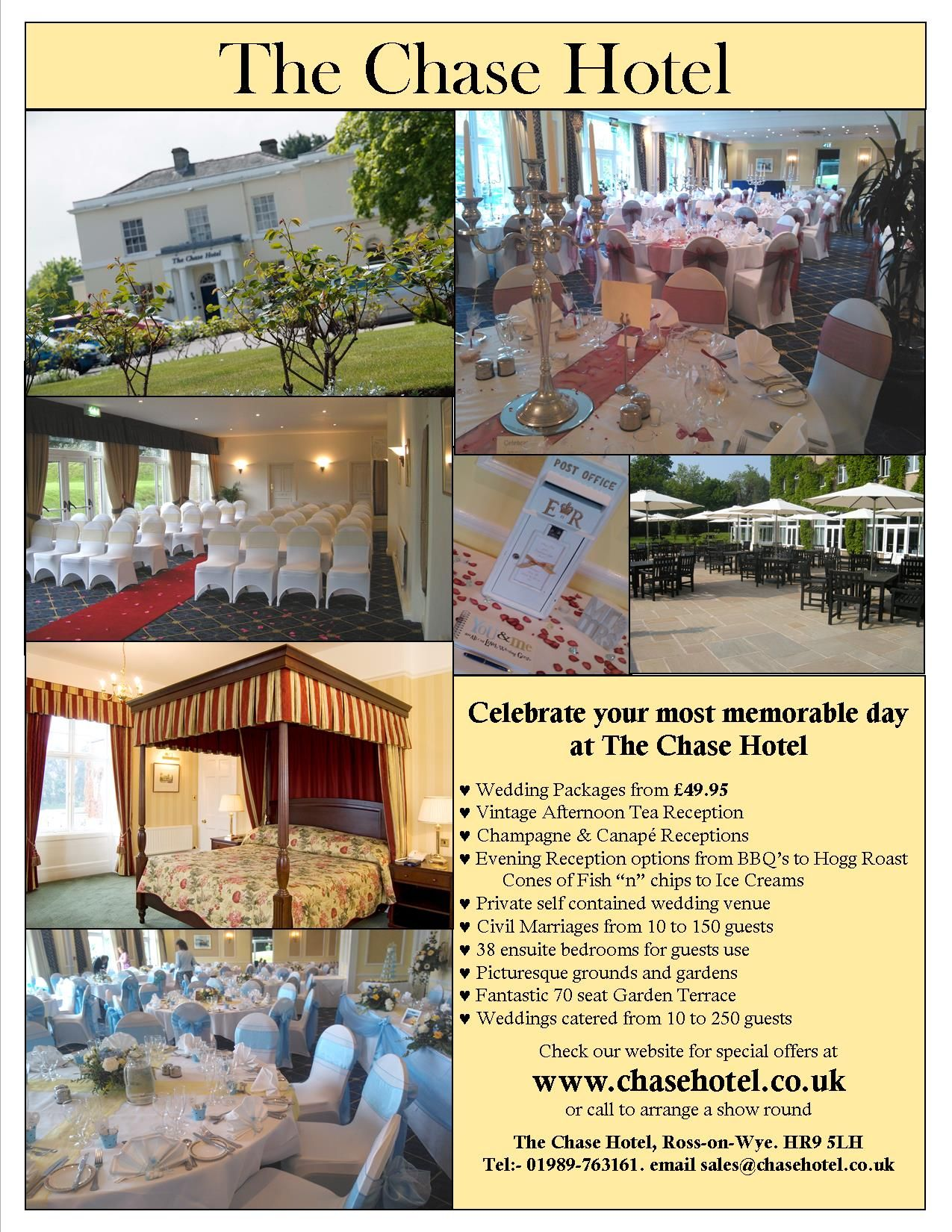 Planning Your Wedding Reception Packages Start From 4995 At The
