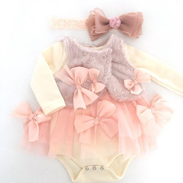 Mae Li Rose マエリローズ ロンパース - レアでセレブな輸入ベビー服:::SugarBaby:::出産祝いやお誕生日に!
