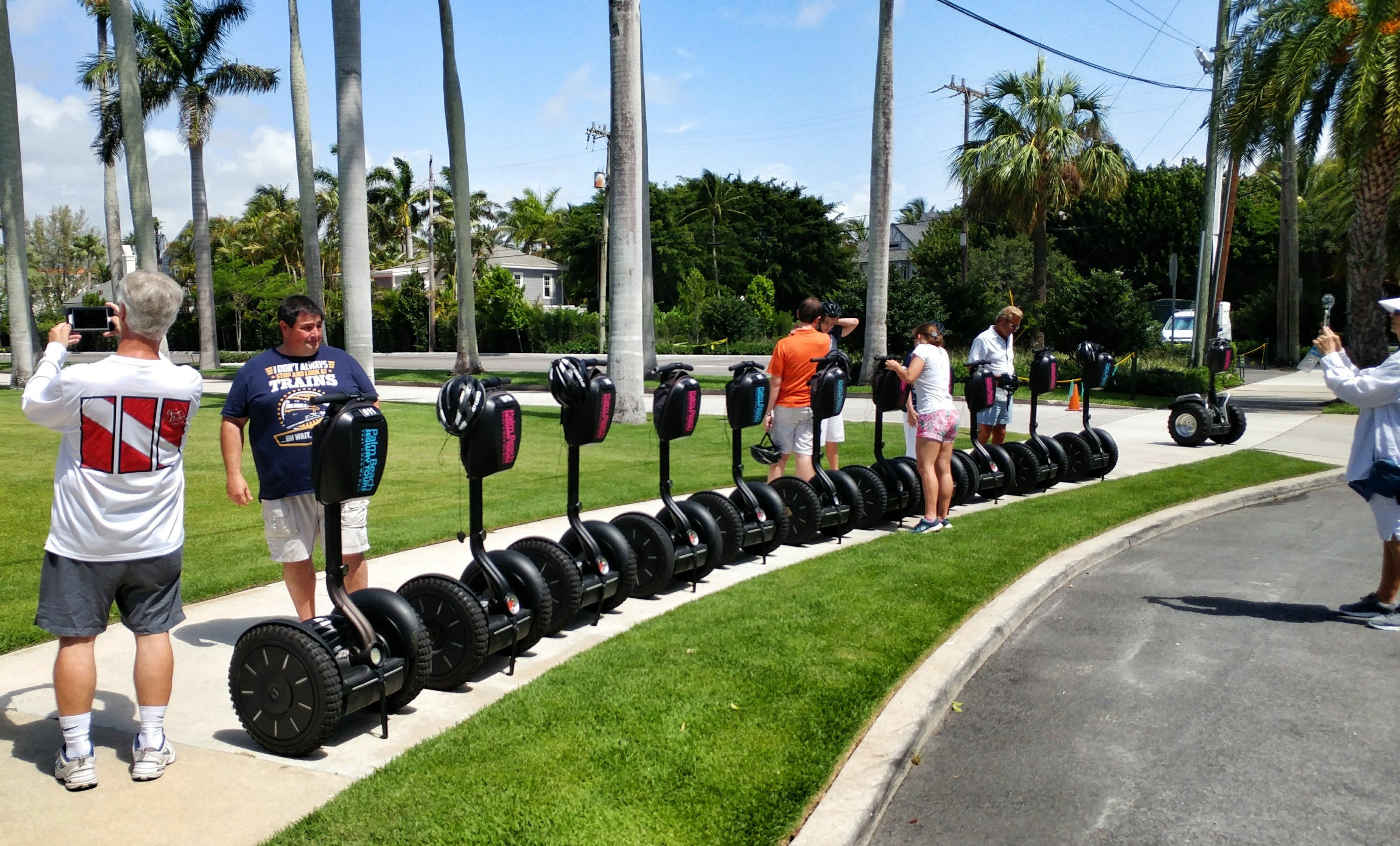 Enjoying a tour with Palm Beach Segway Tours | Clematis Street ...