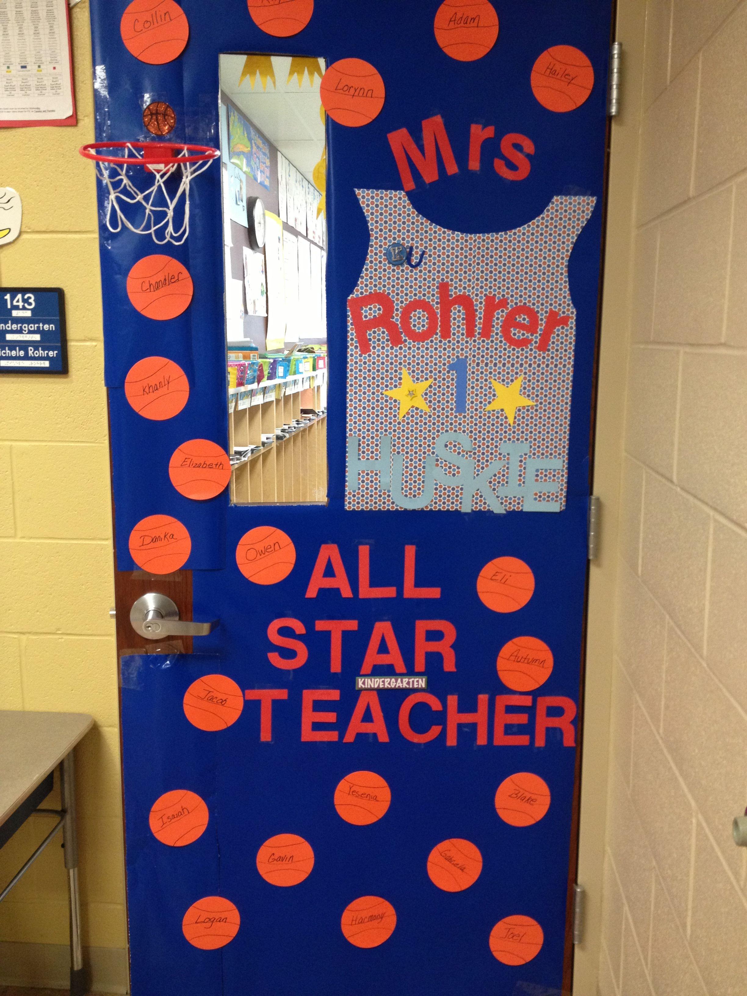 Teacher appreciation door I did for Mrs. Rohrer Owens K teacher! With the help from Haley! & Teacher appreciation door I did for Mrs. Rohrer Owens K teacher ...