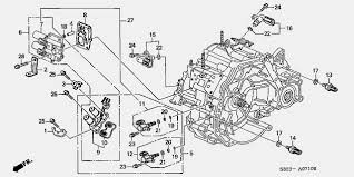Diagrams Of 2001 Honda Accord Transmission 4 Speed Automatic Solenoid Location Google Search Honda Accord Honda Diagram
