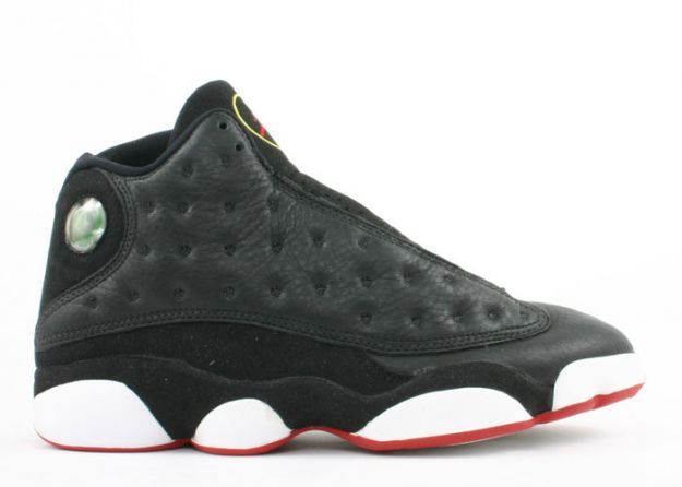 Air Jordan 13 (XIII) Original (OG) - Noir / Rouge Franc -