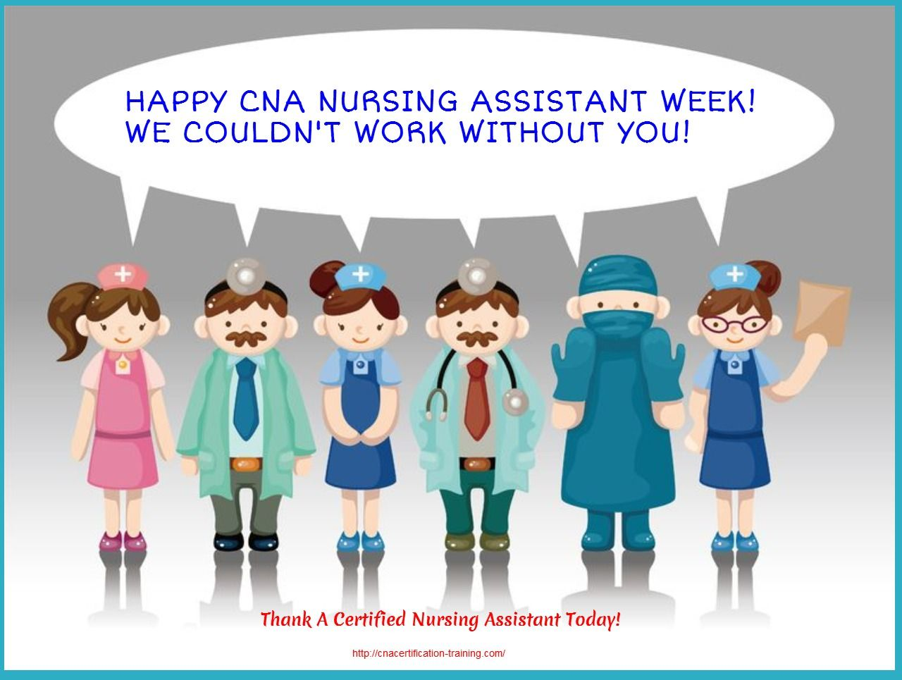 National Cna Nursing Assistant Week Caregiver Inspiration