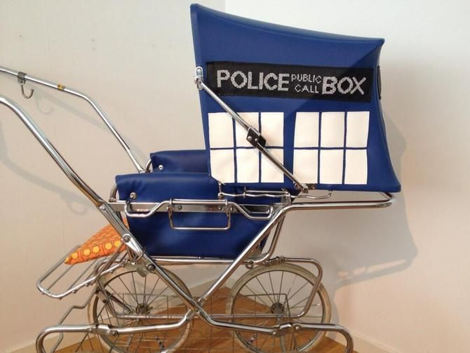 This fan-made Tardis pram makes us all wish we were tiny Time Lords. Crafter Vanja Vinter gives Crave the (bigger on the inside) scoop.