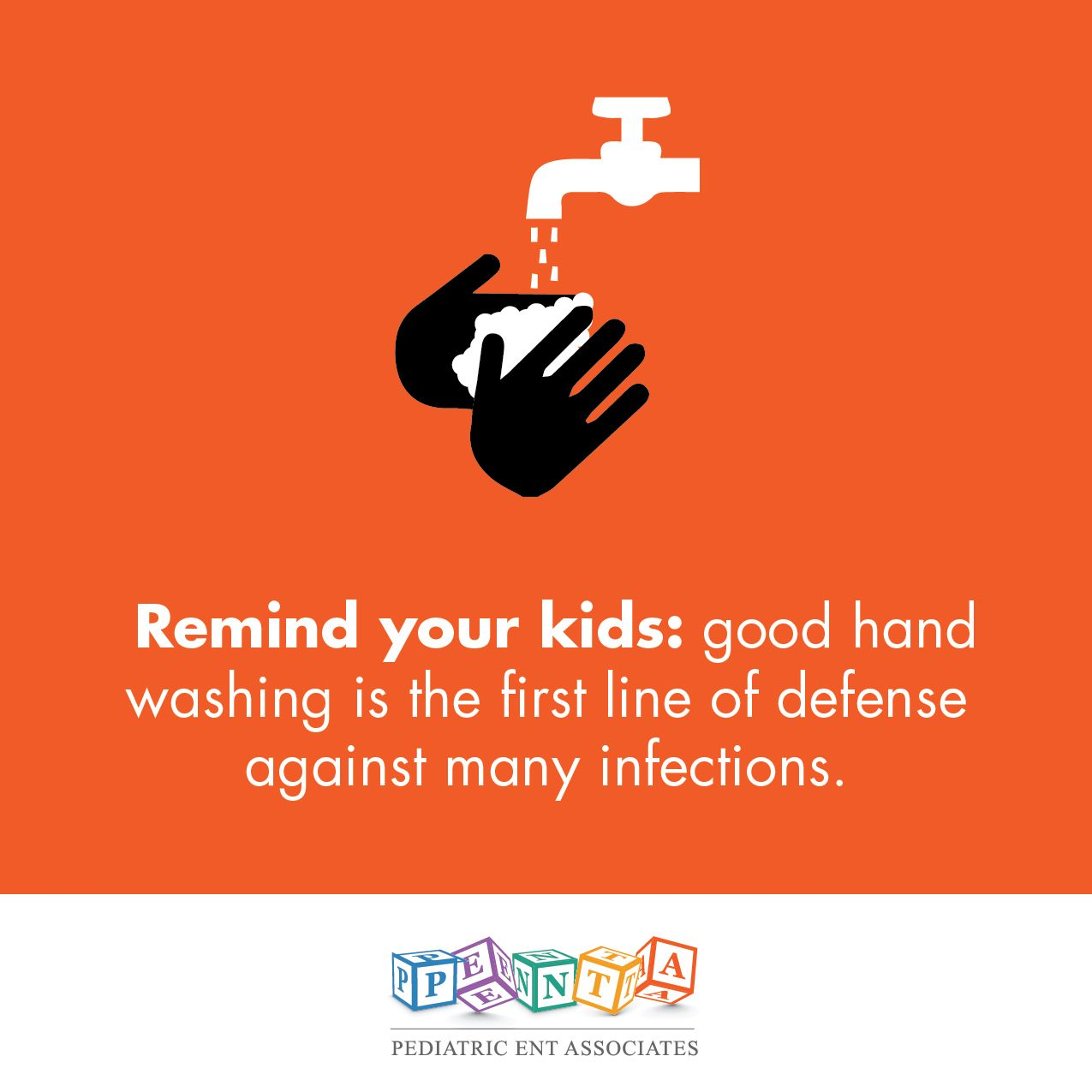 Make Sure Your Kids Wash Their Hands Often And Carry Hand