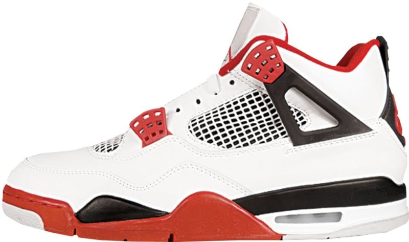 quality design bb74a c55b7 Air Jordan 4  Fire Red  - Air Jordan The Definitive Guide to Colorways