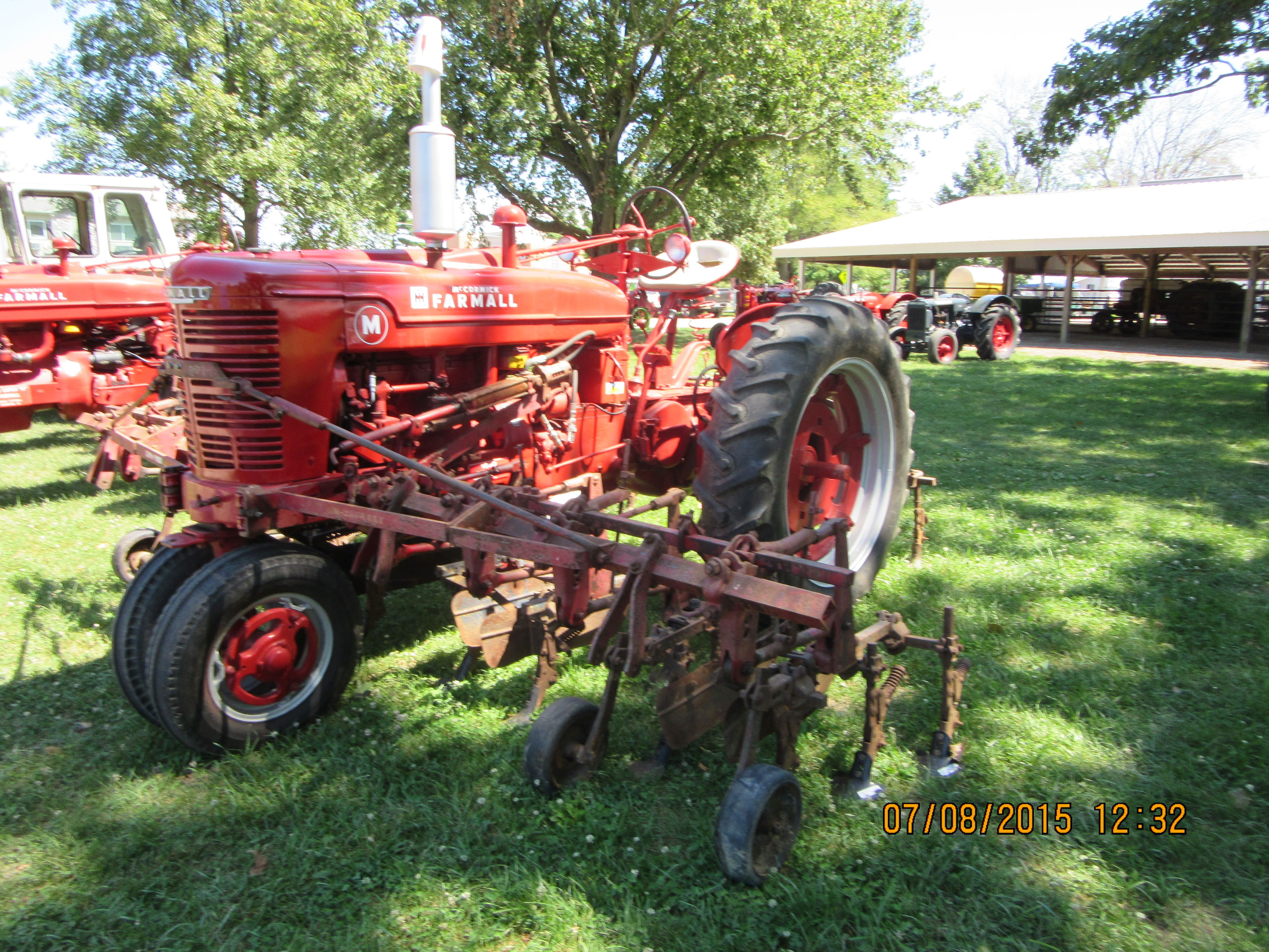 medium resolution of farmall m equipped with front cultivators
