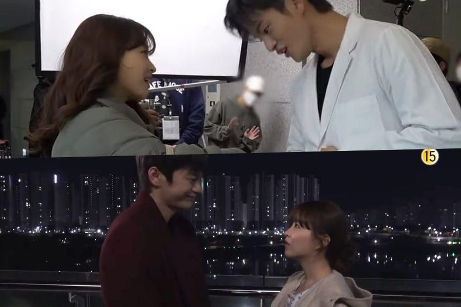 """Watch: Park Bo Young And Seo In Guk Chat Nonstop While Filming """"Doom At Your Service"""""""
