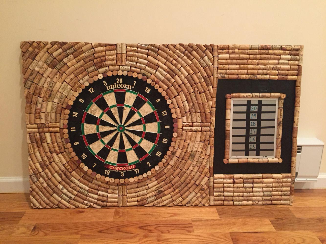 dart cork board made out of wine corks arts and crafts pinterest cork boards darts and cork. Black Bedroom Furniture Sets. Home Design Ideas