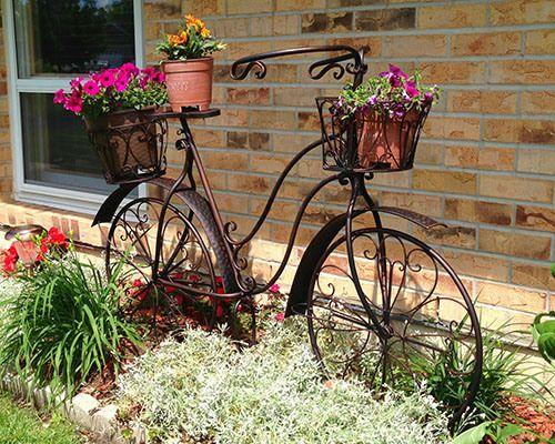 35 Breathtakingly Beautiful Front Yard Landscaping Ideas. Bike PlanterPatio  IdeasGarden ...