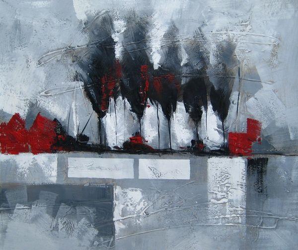 Peinture abstraite 3926 tableau moderne et matisse pinterest peintures abstraites - Tuto peinture abstraite contemporaine ...