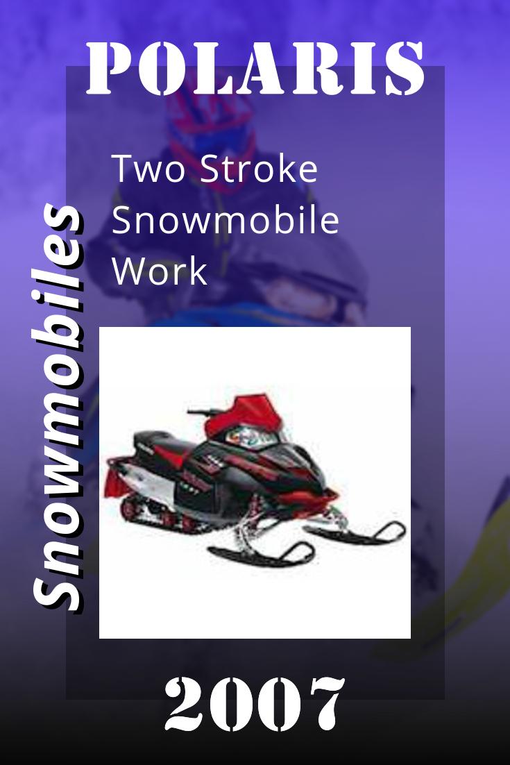 2007 Polaris Two Stroke Snowmobile Workshop Repair Manual 9920463 Repair Manuals Repair Workshop