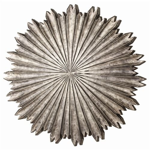 Octavia Small Metal/Wood Wall Plaque