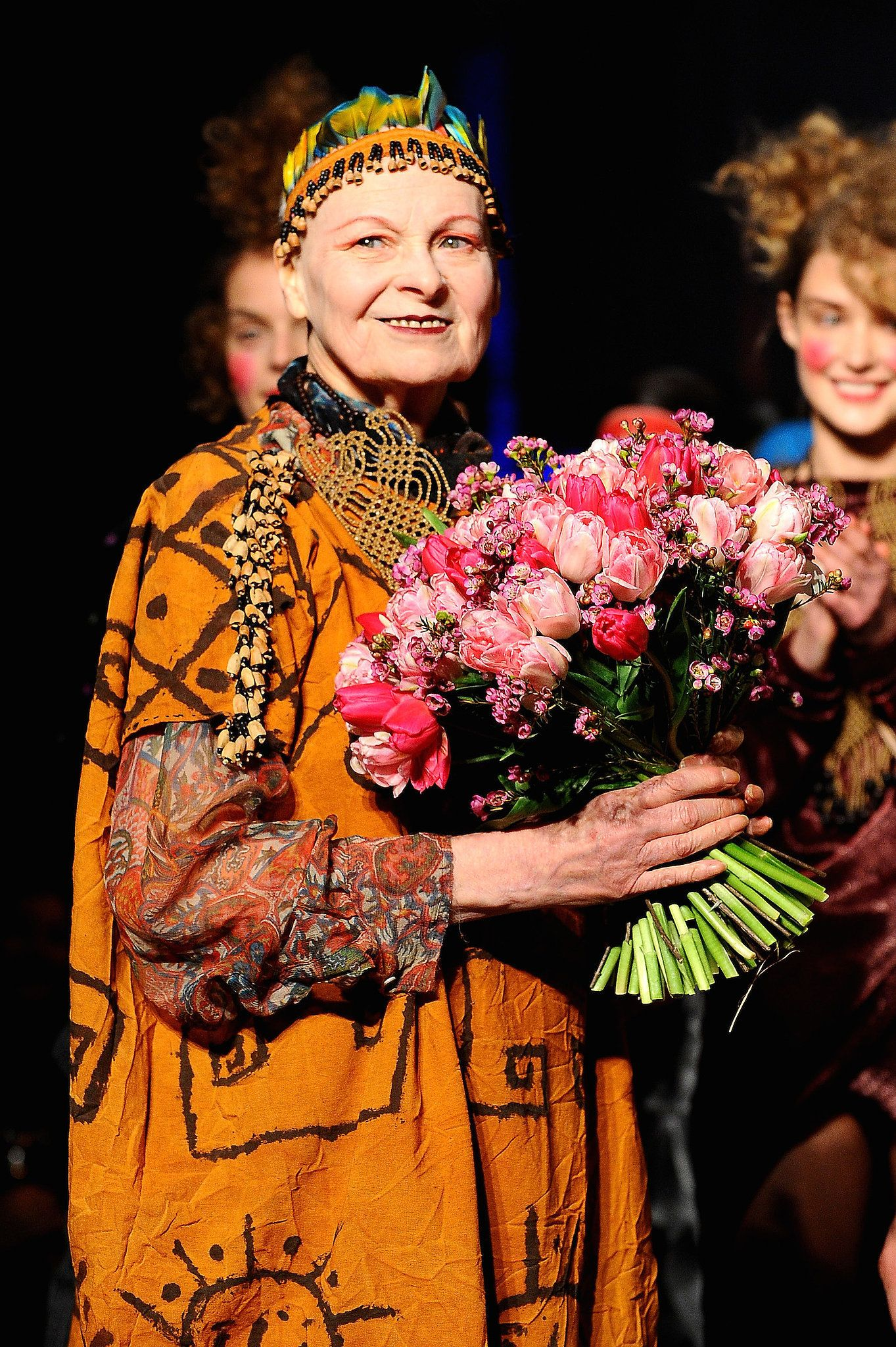 Dame Vivienne Westwood Is An English Fashion Designer And Businesswoman Who Is Largely Responsible For Bringing Punk And New Wav Vivienne Westwood Fashion English Fashion