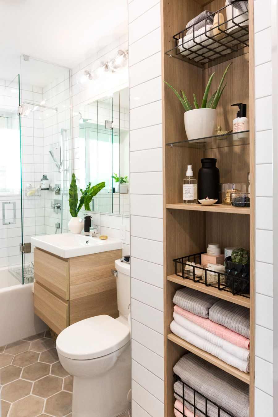 SabrinasBathroom: The Reveal  Bathroom remodel cost, Ikea built