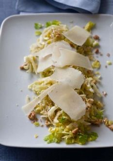 This shall be lunch tomorrow... Barefoot Contessa - Celery & Parmesan Salad