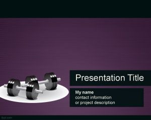 Fitness Powerpoint Template Powerpoint Templates Powerpoint Template Free Powerpoint Background Templates