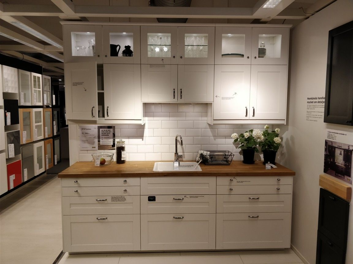 ikea k che method ikea cuisine metod savedal blanc. Black Bedroom Furniture Sets. Home Design Ideas