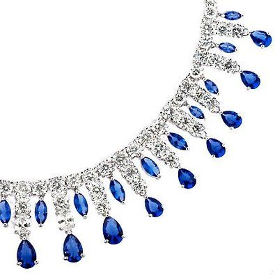200ct silver tanzanite diamond necklace costume jewelry j 200ct silver tanzanite diamond necklace costume jewelry mozeypictures Images