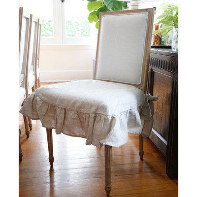 Pom Pom At Home Parson Box Cushion Dining Chair Slipcover