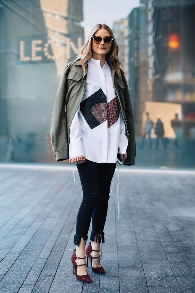 Street style la fashion week automne hiver 2017 2018 de londres olivia palermo palermo and - Style automne 2017 ...