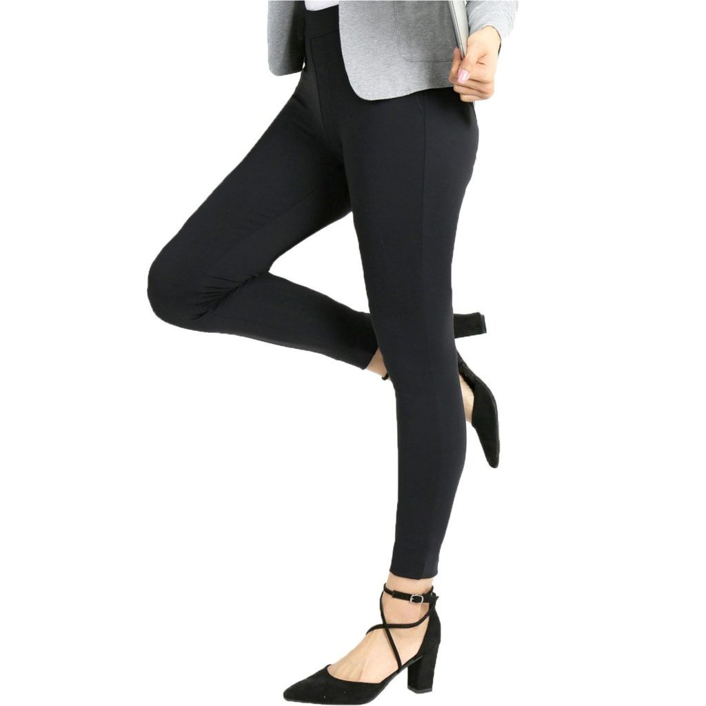 Bamans Yoga Dress Pants High Waisted Black Workout Leggings For Women Office Skinny Lined Leggings Strechy Shop2online Best Woman S Fashion Products Design Yoga Dress Black Workout Leggings Pants For Women [ 1024 x 1024 Pixel ]