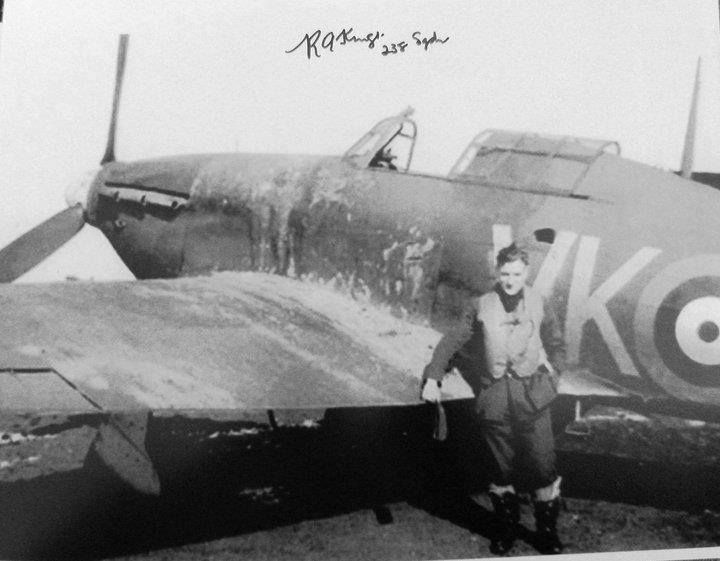 Bob Kings in 1940 with a Hurricane of 238 Squadron | Vintage RAF | Ww2 planes, Ww2 aircraft ...