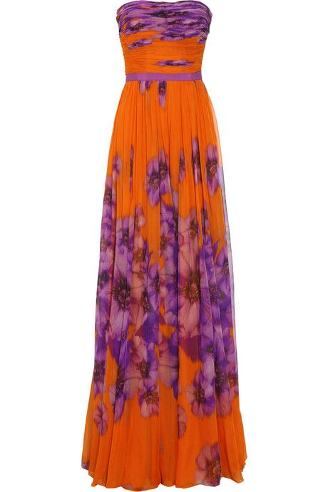 Purple/orange floral...like I said, I don't do orange but I would rock this if I could :)