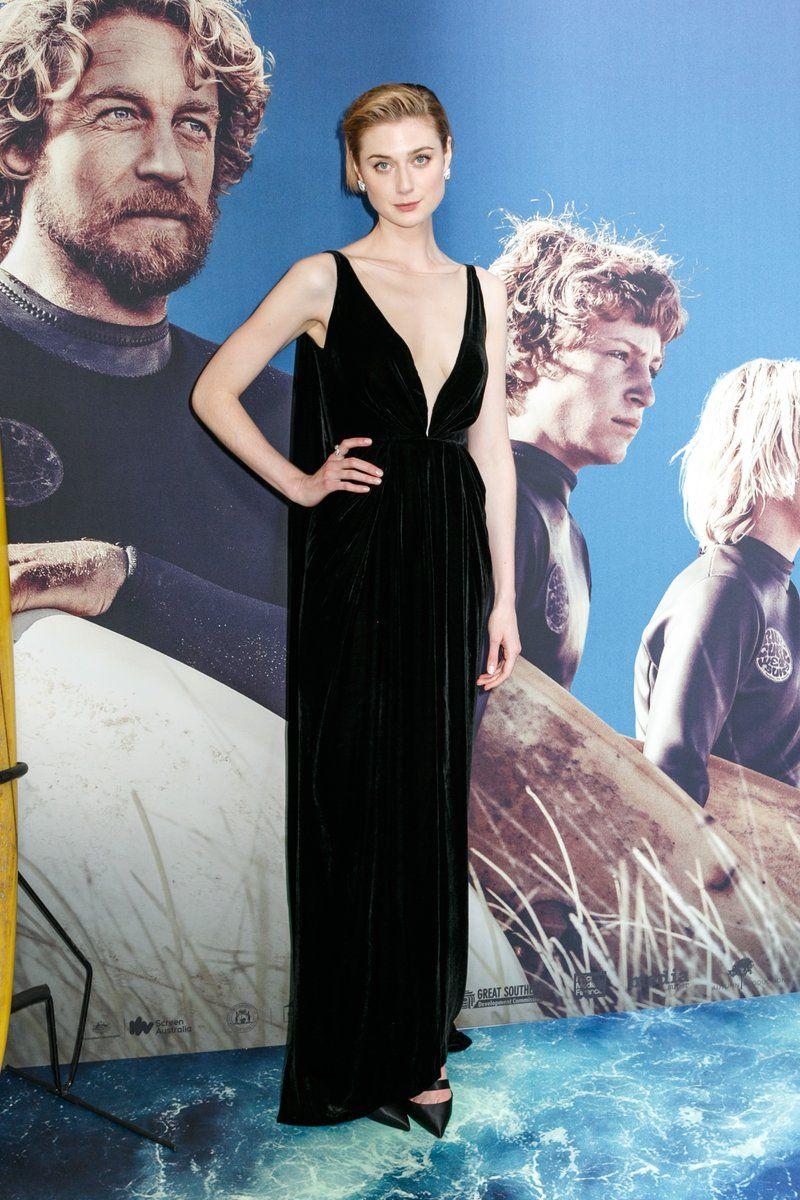 Elizabeth Debicki In Oscar De La Renta Breath Sydney Premiere Elizabeth Debicki Premiere Elizabeth