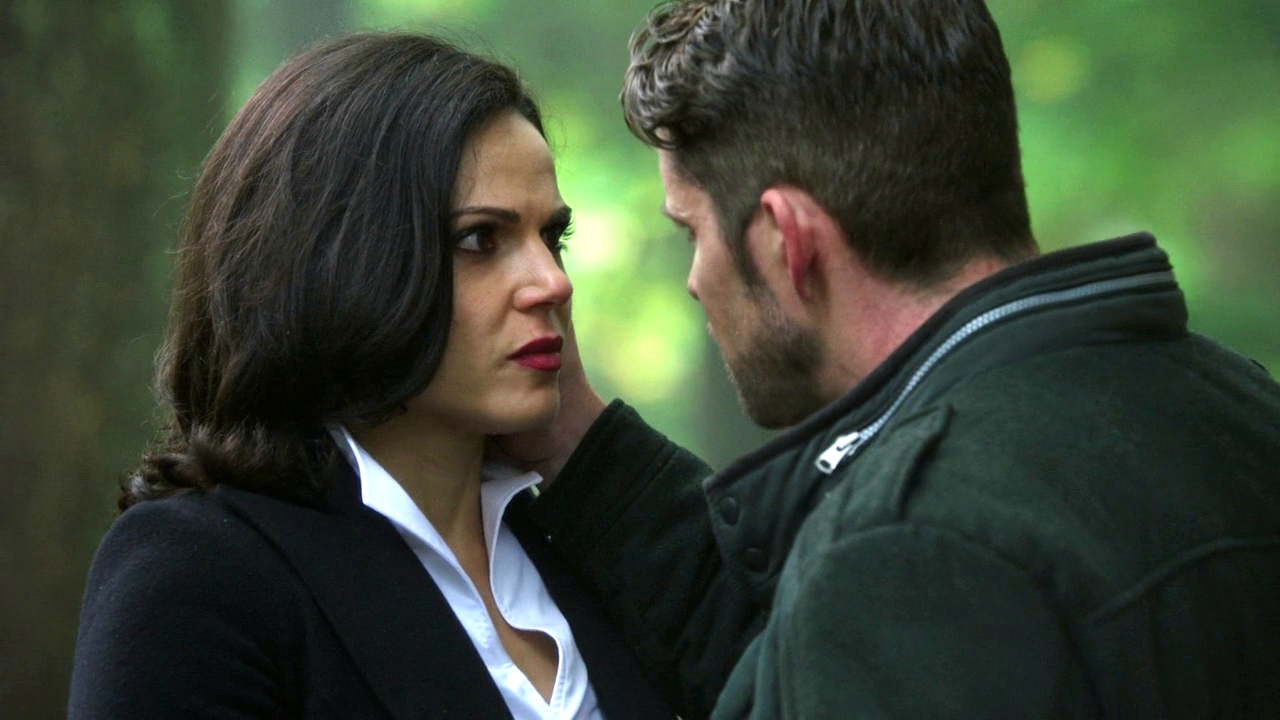 """Regina and Robin - 4* 9 """"The Fall."""" #ShatteredSight #OutlawQueen"""