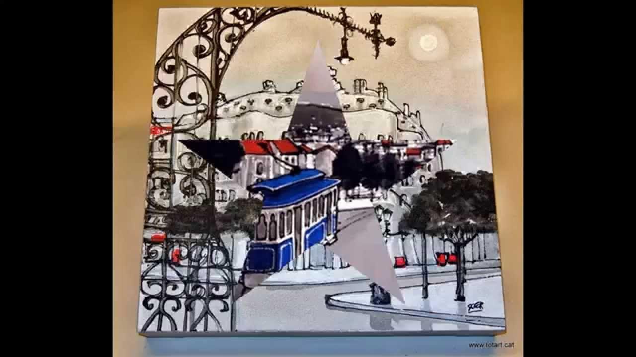 Tienda de marcos y cuadros en barcelona totartcarrer de sants 3 cuadros originales pintura - Marcos de cuadros originales ...