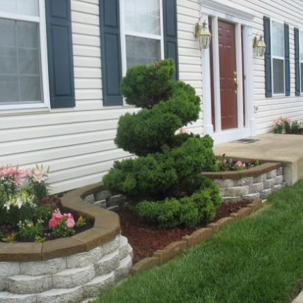 Flower Beds In Front Of House 122 Plants Pinterest Flower Beds