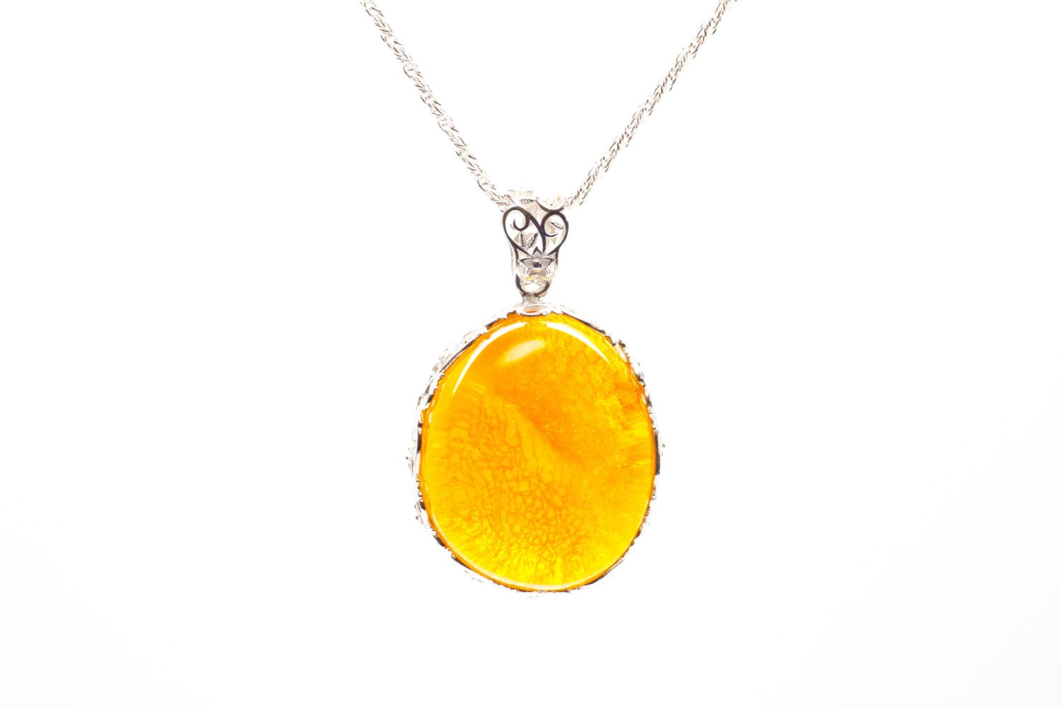 Incredible large amber pendant necklace large baltic amber incredible large amber pendant necklace large baltic amber sterling silver pendant huge amber large amber jewelry amber jewellery aloadofball Images