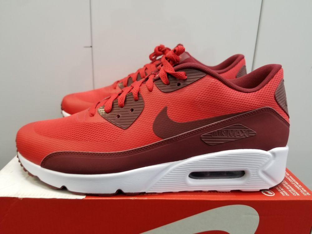 off white air max 90 university red