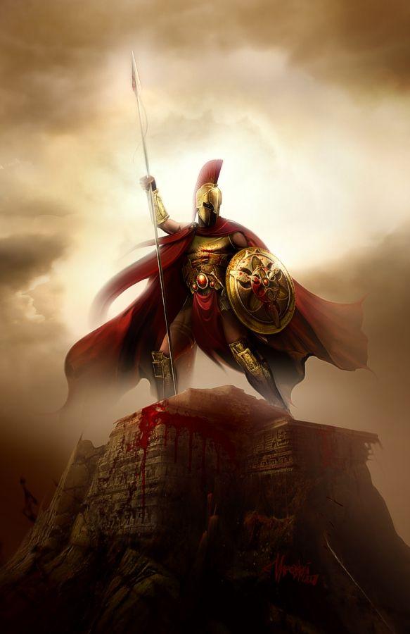 Spartan by maronski.deviantart.com on @deviantART