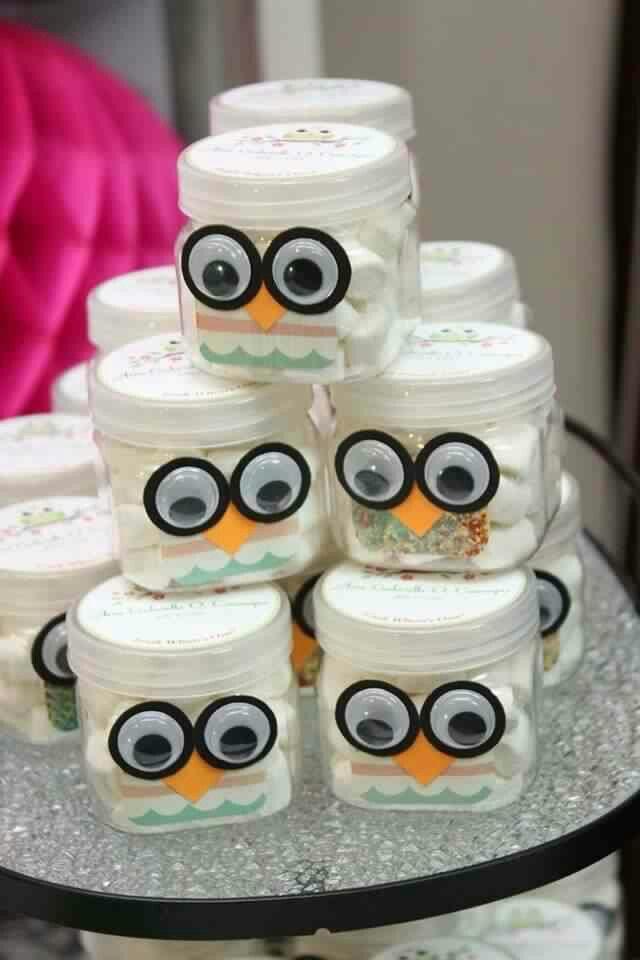Owls souvenirs party